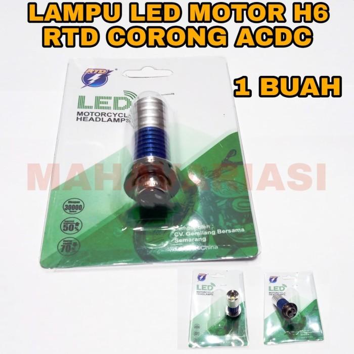 Lampu Motor Led Rtd Corong H6 Acdc
