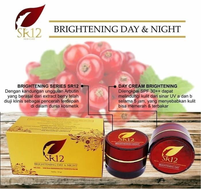 Jual Sr12 Herbal Skincare Acne Moist Day Cream Spf 33
