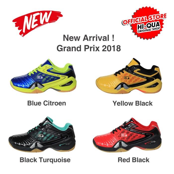 Jual New Arrival !!! 2018 HQ Grand Prix Sepatu Bulutangkis Badminton ... 97ace4c25c