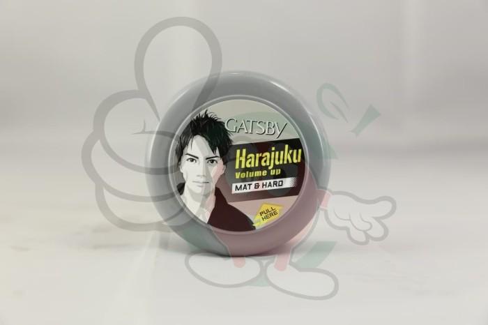 Styling Wax GATSBY Harajuku Volume Up Mat & Hard - 75Gr -