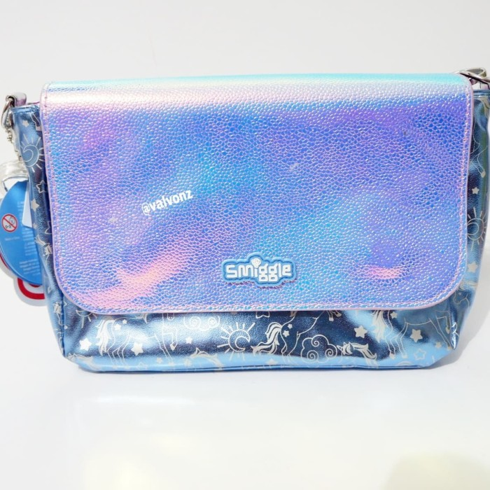 Jual Smiggle Emma Reversible Shoulder Bag Lilac-Tas Selempang 2in1 ... e8dde303a4