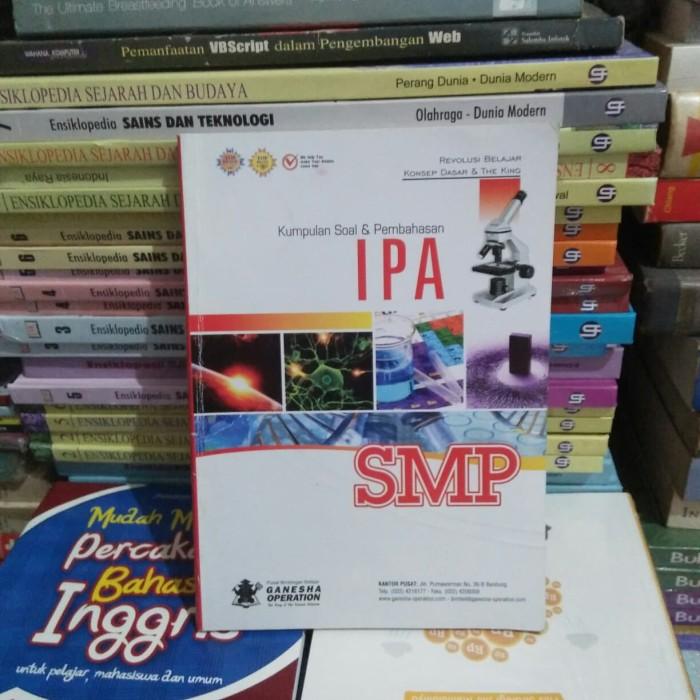 Jual Original Kumpulan Soal Pembahasan Ipa Smp Jakarta Timur Pardomuan Martua Book Tokopedia