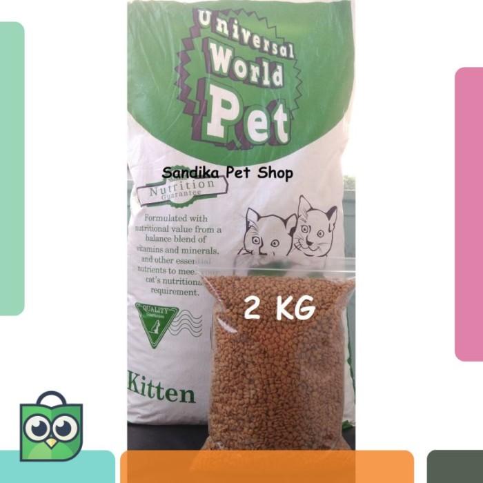 Makanan Kucing / Cat Food UNIVERSAL KITTEN REPACK 2 KG