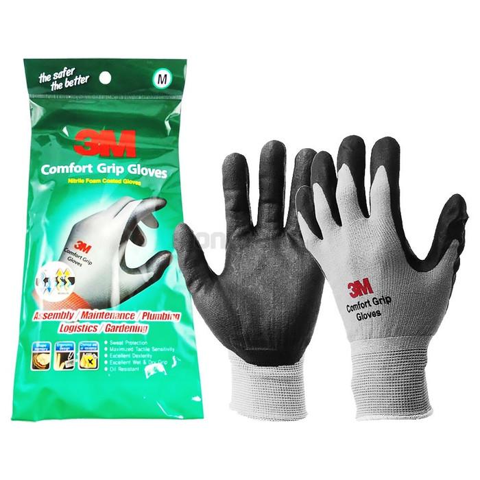 Foto Produk Comfort Grip Gloves / Sarung Tangan 3M anti potong size M dari Universal Electric