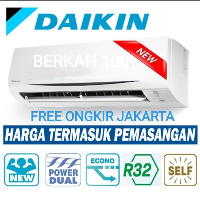 Ac Daikin 0.5pk FTKQ15SVM4 Low Watt Inverter Thailand + Pasang