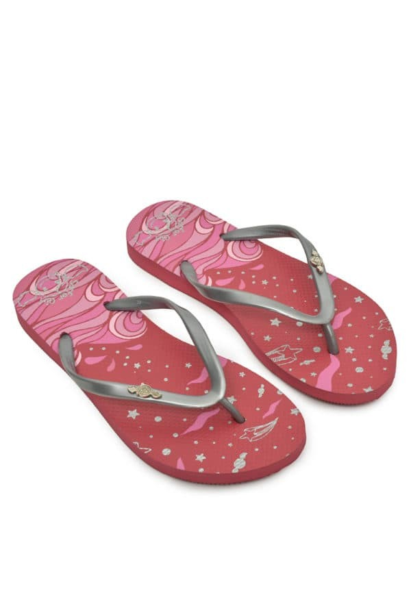 harga Surfer girl sandal night of splashing star 17dcmtbsn01red - merah 37 Tokopedia.com