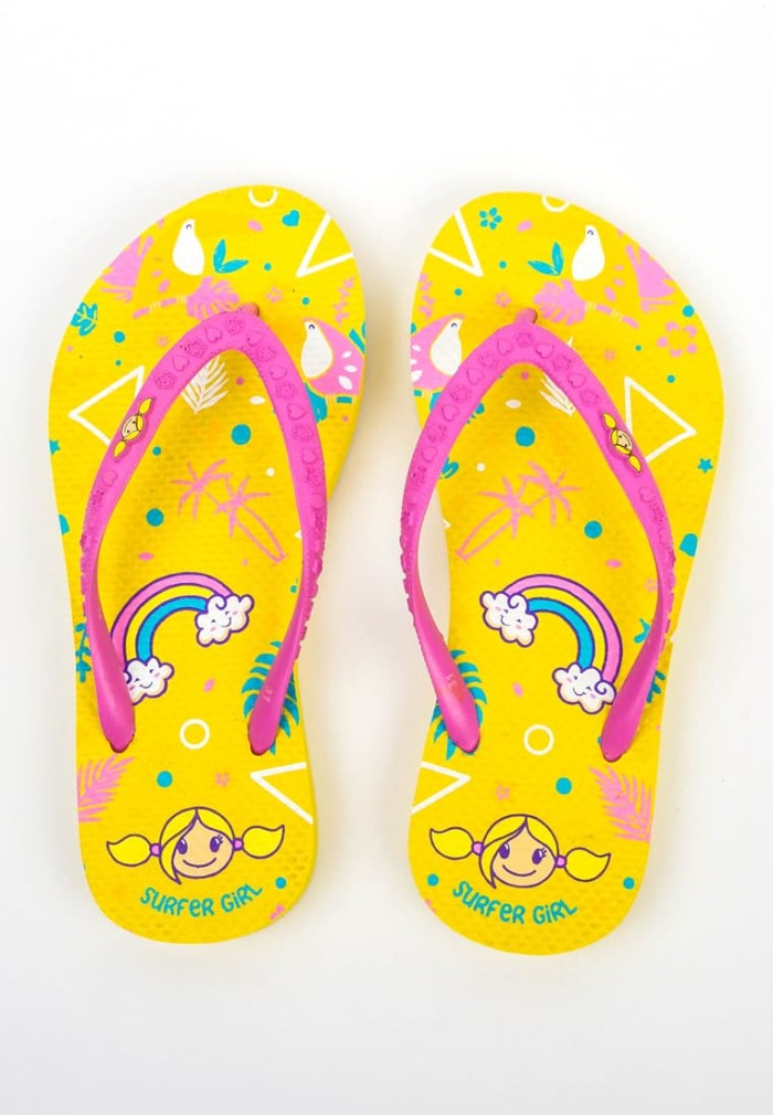 harga Surfer girl tropical funtime kid sandal - 18julkbsn01yel - 31 kuning Tokopedia.com