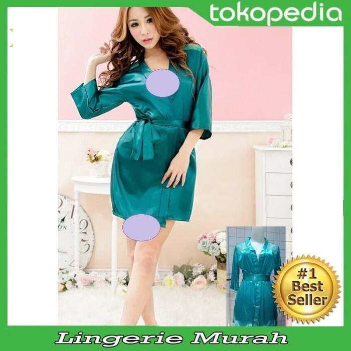 5716368ec8 Jual Sexy Kimono Lingerie transparan Hitam hijau elegant Hot Promo - Kota  Salatiga - Mega Lingerie Store | Tokopedia