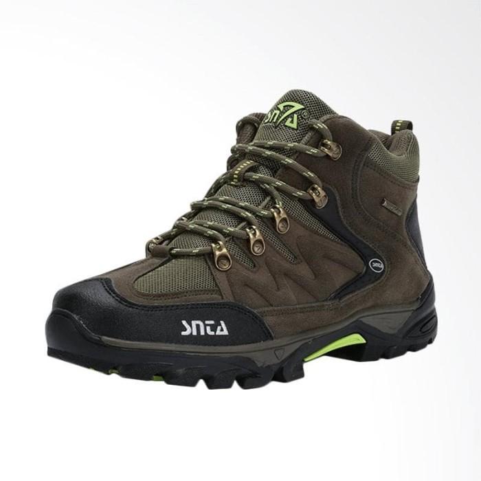 Snta Footwear Sepatu Gunung Pria - Greenlight [SNTA Tipe 469]