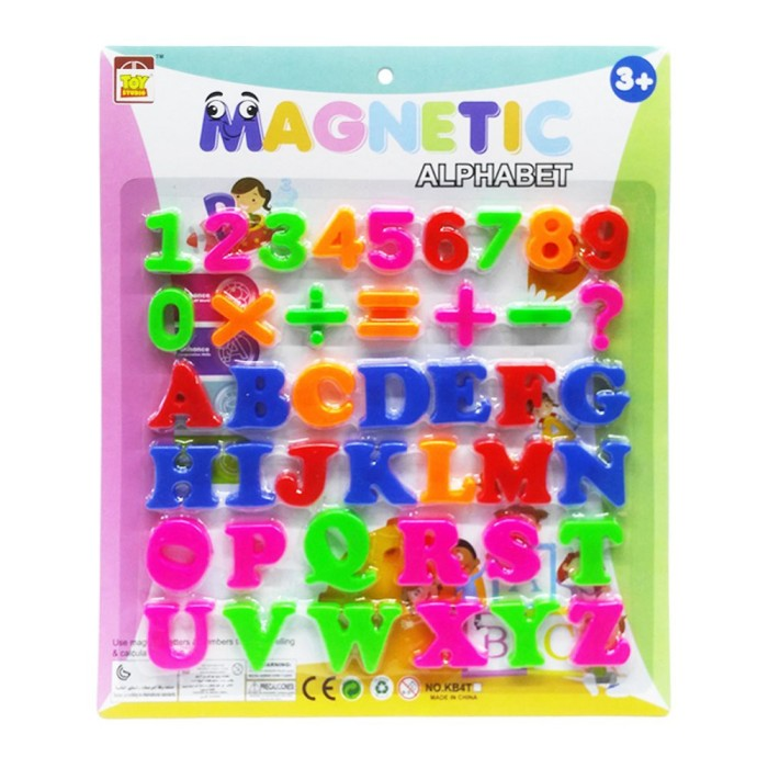 Magnetic Letters & Numbers : Capital Letters Magnet Huruf Besar