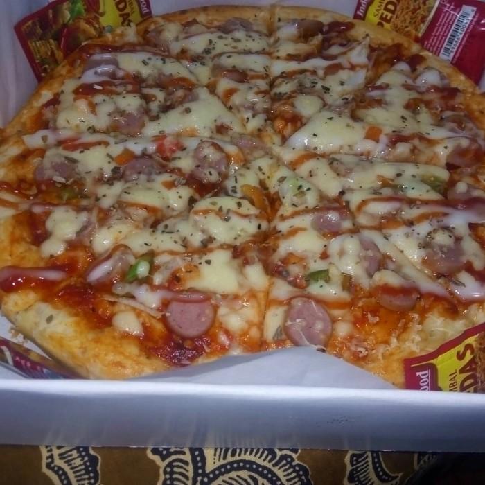 Jual Pizza Sosis Ayam Kab Serang Imma Pizza Tokopedia