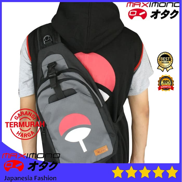 harga Tas anime uchiha clan - naruto - waist bag Tokopedia.com