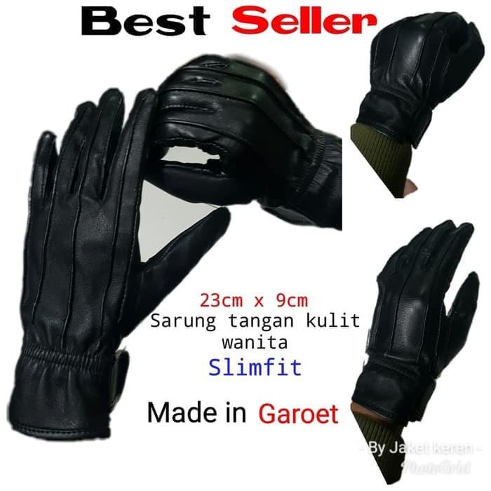 harga Sarung tangan motor wanita kulit asli garut keren dan murah stc-01 Tokopedia.com