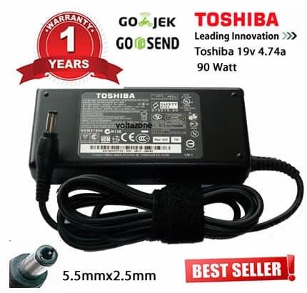 harga Adaptor / charger laptop toshiba 19v-4.74a original garansi 1 tahun Tokopedia.com