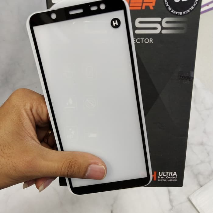harga Tempered glass anti gores kaca full samsung j8 2018 full glue list Tokopedia.com