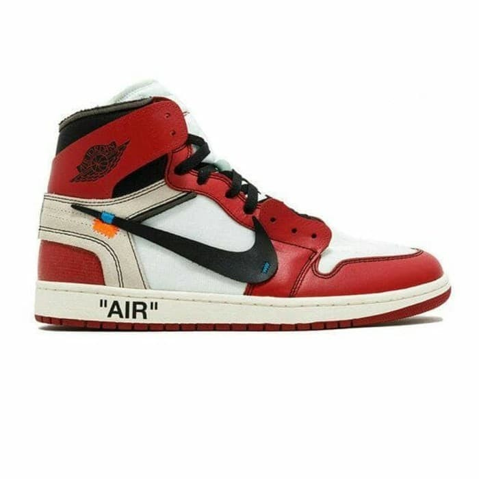 Jual Nike Air Jordan 1 Retro High Off White Chicago - Cindishop ... 0c6cdfbf03