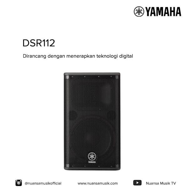 Yamaha dzr12 vs dsr112
