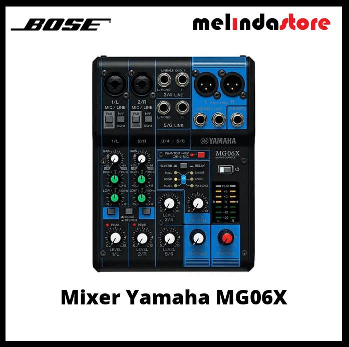 harga Yamaha mg06x / mg 06x / mg 06 x mixer audio original yamaha Tokopedia.com