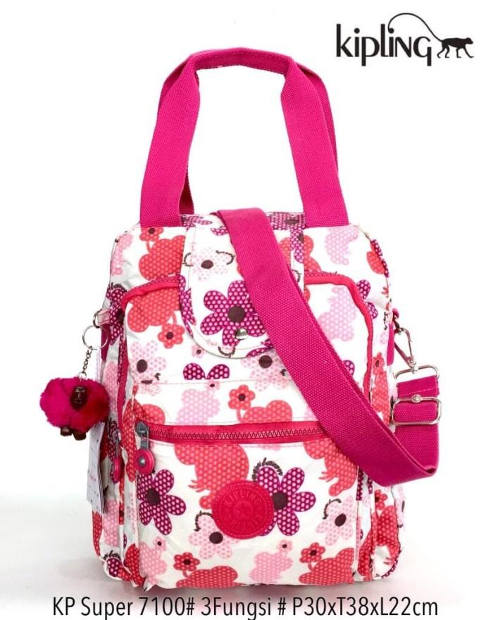 harga Tas ransel kipling handbag selempang multifungsi 3 in 1 7100 - 15  Tokopedia.com 61a69785db