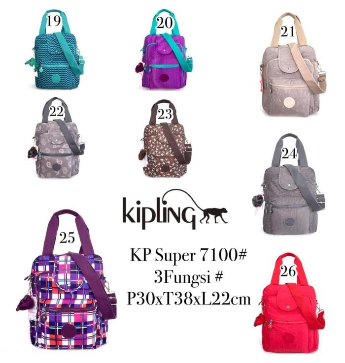 Jual Tas Ransel Kipling Handbag Selempang Multifungsi 3 in 1 7100 ... b35a2a736e
