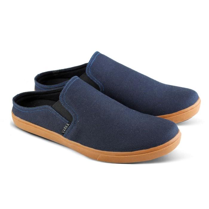 Sepatu Slip On Varka V 020 Sepatu Kasual Pria Sepatu Santai - Blanja.com