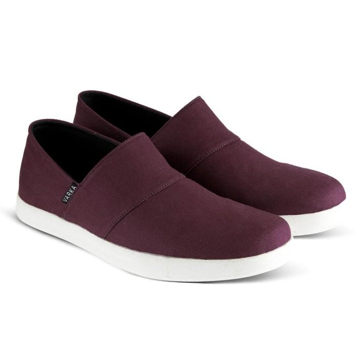 Sepatu Slipon Pria Varka V 032 Sepatu Sneakers Kets Dan Kasual Santai - Blanja.com