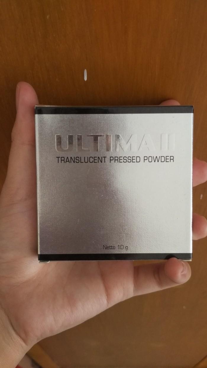 Jual Beli Ultima Ii Translucent Pressed Powder Original Golden Beige Delicate Face 24g Preloved