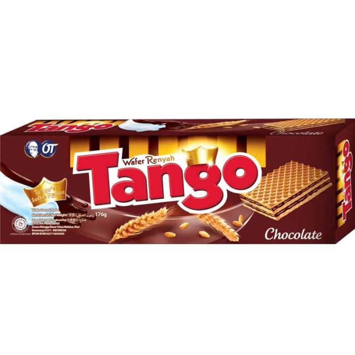 Wafer Tango 176gr Isi 3pcs Strawberry Harga