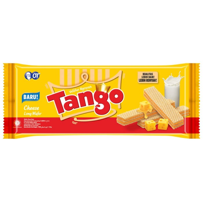 Wafer tango cheese 130gr - isi 3pcs