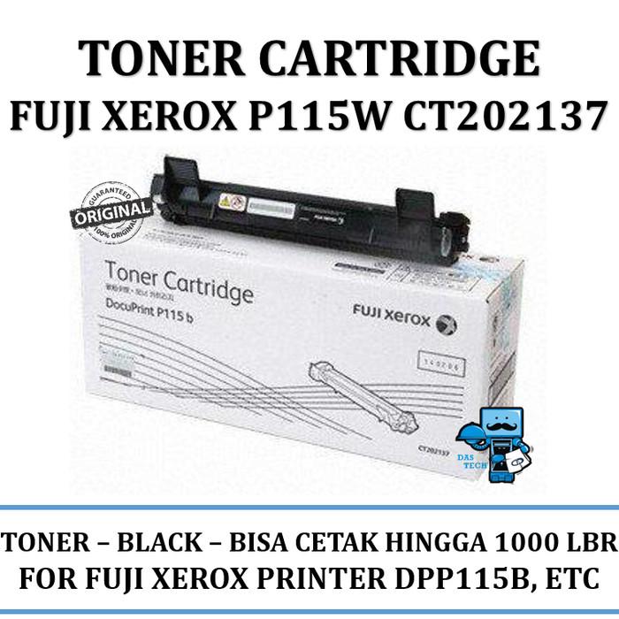 harga Toner printer fuji xerox p115w ct202137 original - kami dealer resmi Tokopedia.com