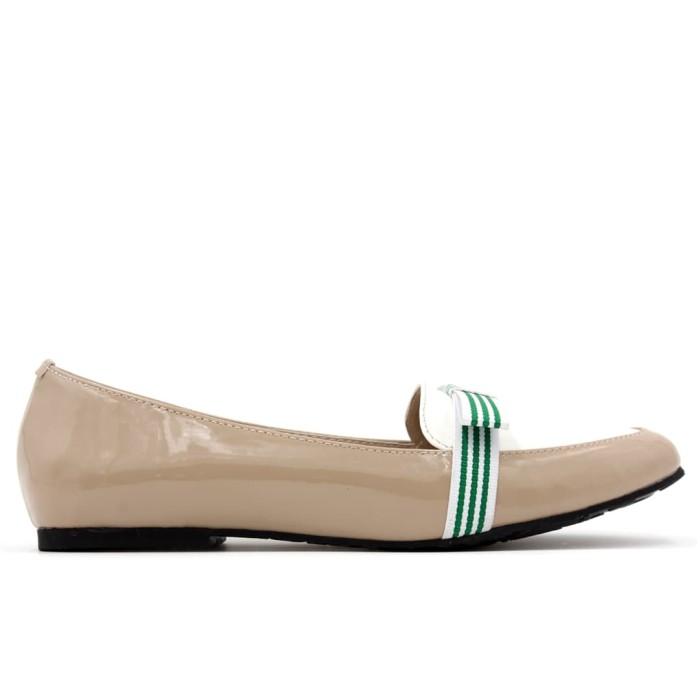 Yongki komaladi flat shoes amanda - grey