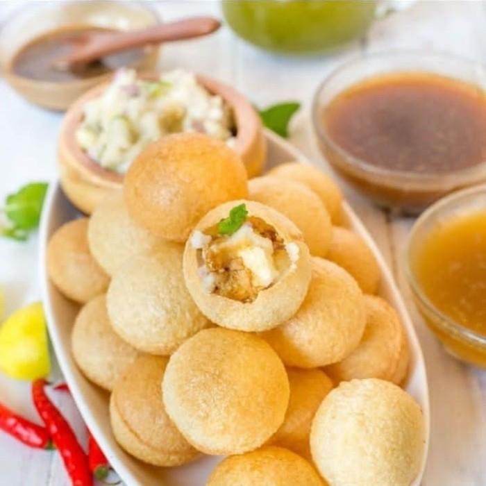 Jual Pani Puri Makanan India Kota Bekasi Jafra Jatiasih