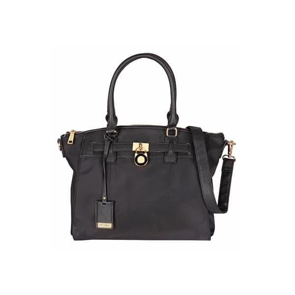 Palomino calandre handbag - black