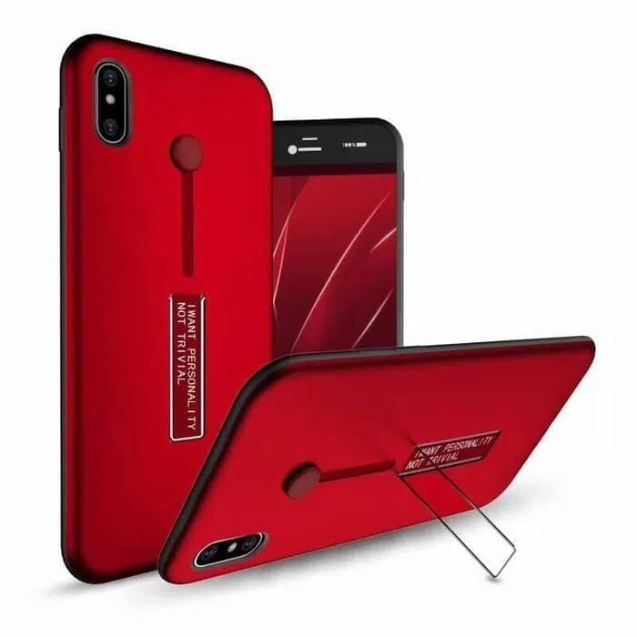 low priced e9b93 ee9ba Jual For Oppo A3S A5 Luxury Case Grip Stand I Want Personality Hardcase -  Kab. Bekasi - Baba-qu-acc | Tokopedia