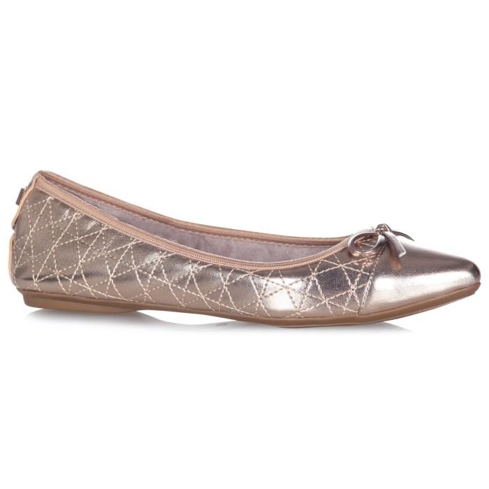 harga Sepatu flat wanita butterfly twists holly rose gold - emas 36 Tokopedia.com