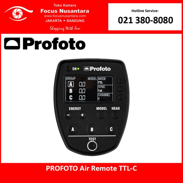 harga Profoto air remote ttl-c for canon Tokopedia.com