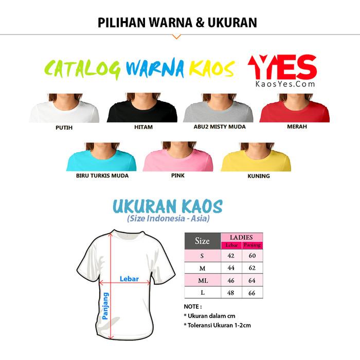 ... O-Neck Lengan PANJANG. Source · KaosYES Kaos Polos T-Shirt WANITA / LADIES - Putih, S