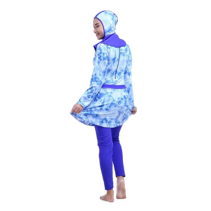 Jual Baju renang muslimah dewasa - Biru bf3ac49bed