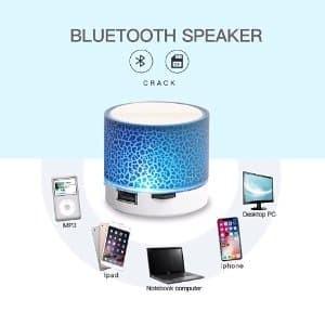 Speaker Bluetooth Mini Lampu Tidur Warna Warni - Wireless Speaker Mi