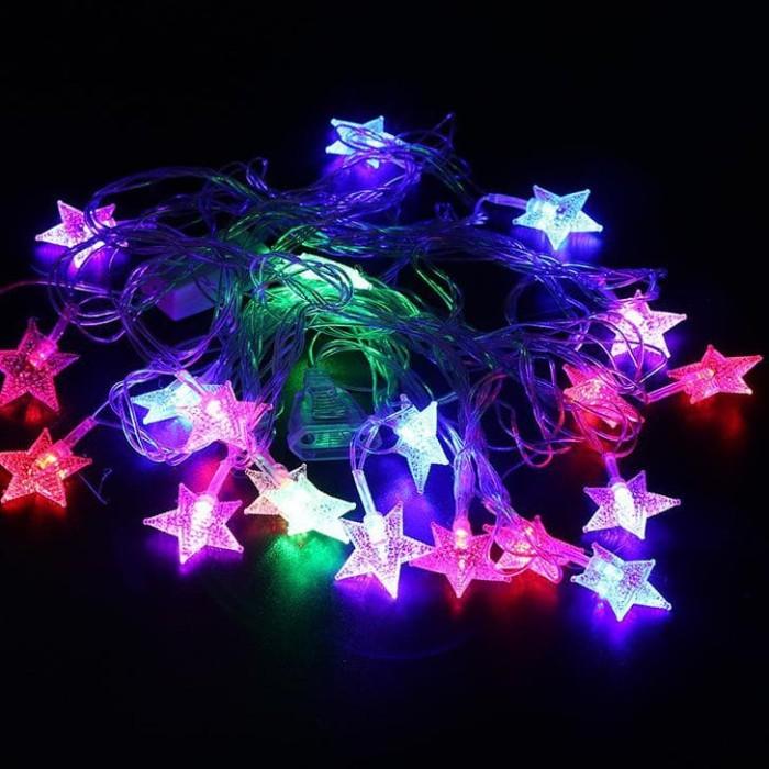 Jual Lampu Tumblr Model Bintang Lampu Hias Tumblrtwinkle 10m