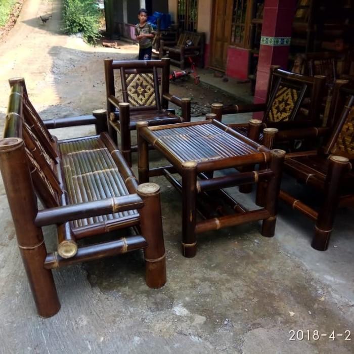 8300 Koleksi Gambar Kursi Meja Dari Bambu Gratis