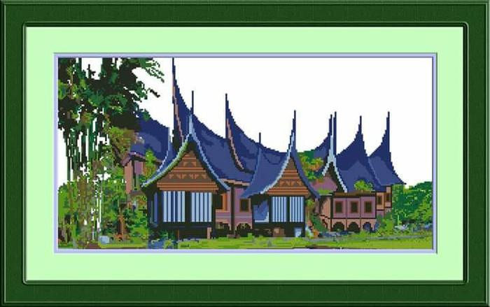 66 Gambar Rumah Adat Minang Terbaik
