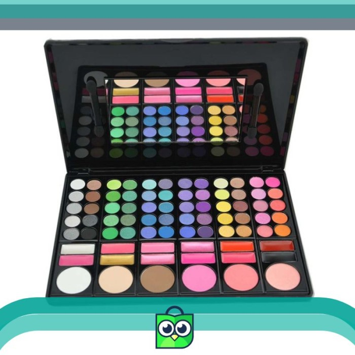 Alat Make Up Mac Pallete Pallet Palet 78 Warna / 78 Color Eyeshadow