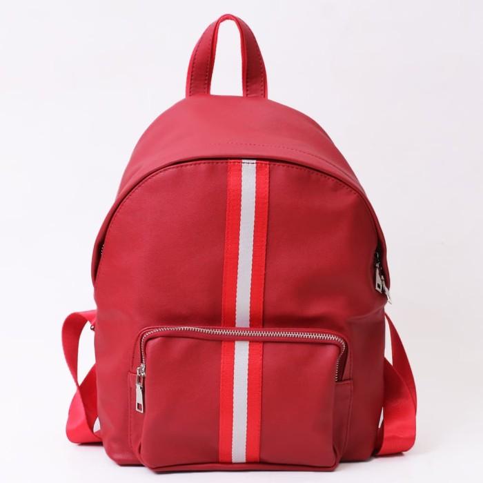 TAS RANSEL WANITA - DONATELLO ORIGINAL - TS905100 RED - BACKPACK WOMEN