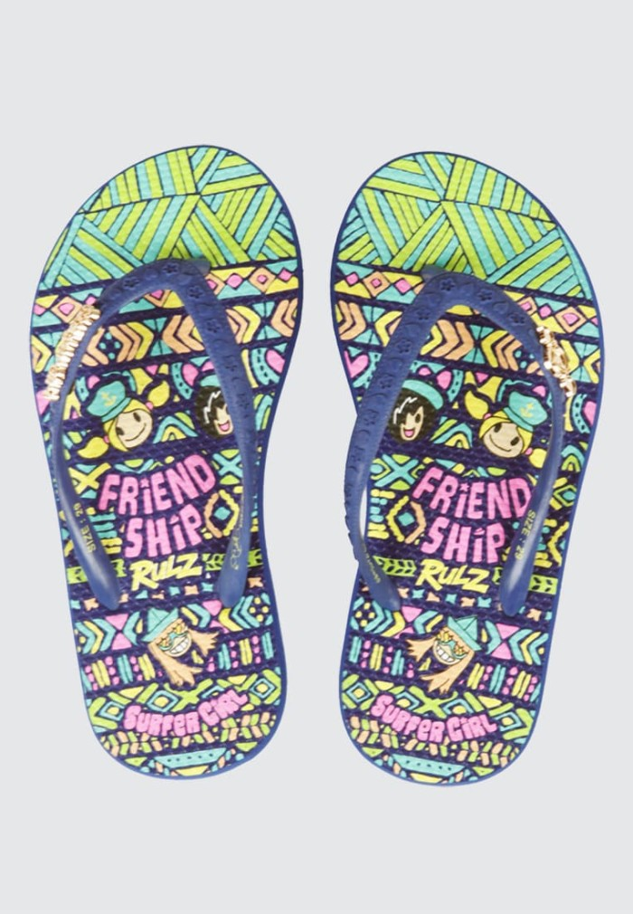 harga Surfer girl friendship rulz sandal kid navy 25fsrkbsn02nvy - 25 navy Tokopedia.com