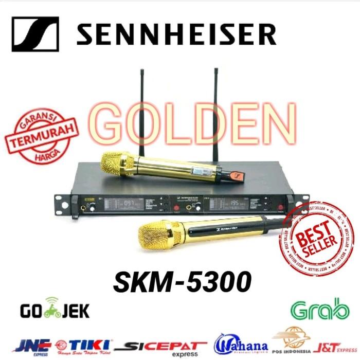 harga Mic wireless sennheiser skm 5300 gold edition Tokopedia.com