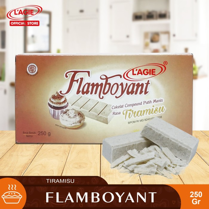 Jual Hbt Colata Glaze Donut 250gr Tiramisu - Lihat Detil. Source · LAGIE Flamboyant Baking