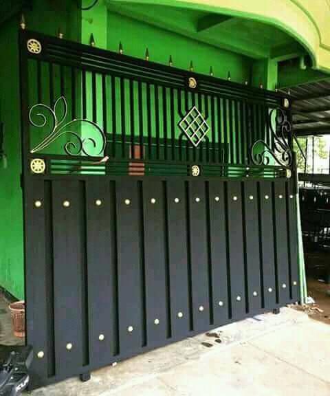 Pintu Pagar Rumah Terkini | Desainrumahid.com