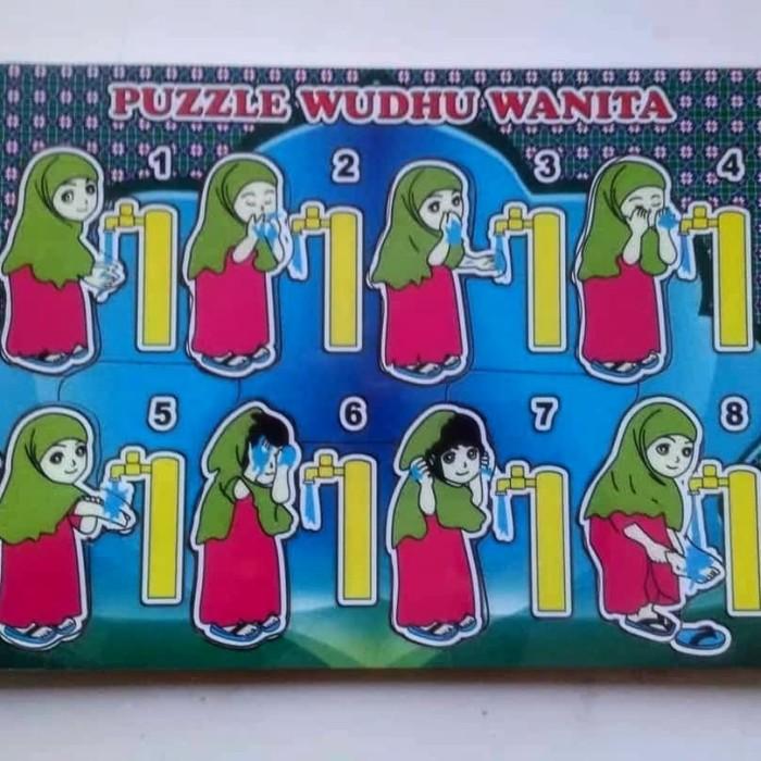 Gambar Kartun Wanita Wudhu Jual Puzzle Wudhu Wanita Kab Klaten Puzzle Toys Tokopedia
