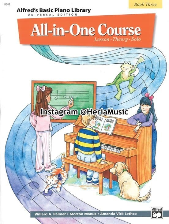 Foto Produk Alfred's Basic All-in-One Course Universal Edition Book 3 dari HERIA MUSIC